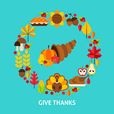 Give Thanks Postcard