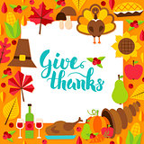 Give Thanks Paper Template