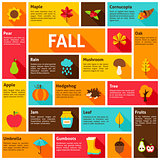 Fall Infographic Concept