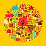 Fall Season Concept