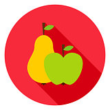Fruits Circle Icon