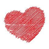 Crosshatching Valentines