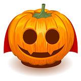 Pumpkin dracula for halloween