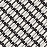Vector seamless zigzag line pattern. Abstract geometric background. Repeating monochrome lattice background