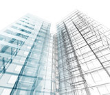 Abstract building concept image