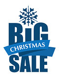 Big Christmas Sale inscription