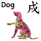 Chinese Zodiac Sign, Dog sitting