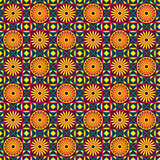 Geometric seamless colorful pattern