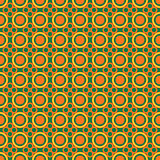 Seamless pattern with round elements