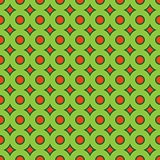 Abstract seamless pattern with circle elements