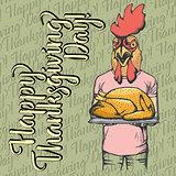 Vector illustration of Thanksgiving xxx concept