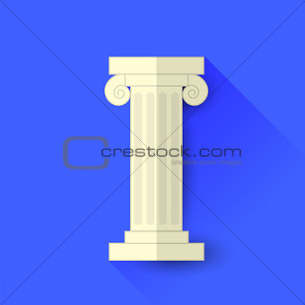 Single Greek Column