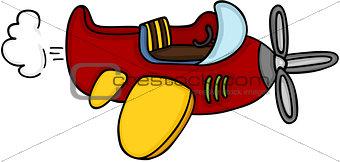 Little airplane cute