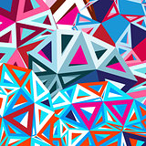 Geometric abstract a background