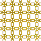 Net of chain in golden design