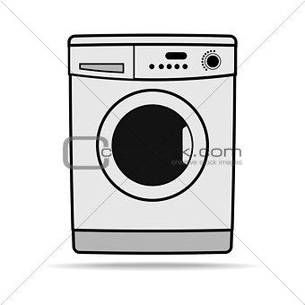 Washing machine icon.