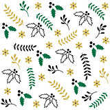 Winter seamless Christmas pattern