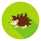 Hedgehog Circle Icon