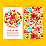 Hello Autumn Flyer Template