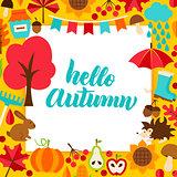 Hello Autumn Paper Concept
