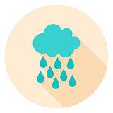 Rain Circle Icon