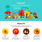 Web Design Hello Fall