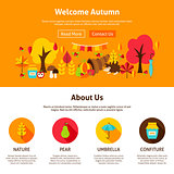 Web Design Welcome Autumn