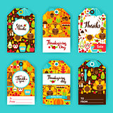 Thanksgiving Day Gift Labels