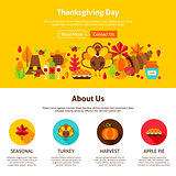 Thanksgiving Day Website Design