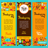 Thanksgiving Vertical Flyers