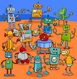 cartoon robot characters big pack