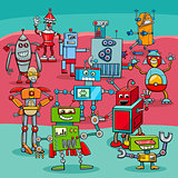cartoon robot fantasy characters