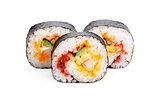 Sliced Sushi Rolls