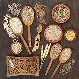 High Fiber Pasta Grain and Cereal Health Food