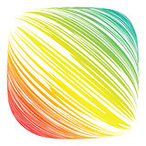 Colorful lines abstract background.