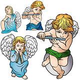 Four Angels Set