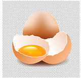 Eggs With Isolated Background