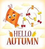 Hello autumn theme image 2