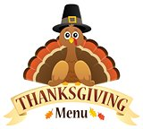 Thanksgiving menu theme image 1