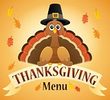 Thanksgiving menu theme image 2