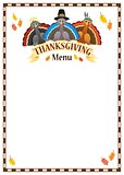 Thanksgiving menu theme image 5