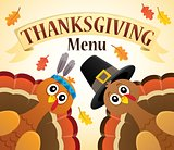 Thanksgiving menu theme image 6