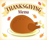 Thanksgiving menu theme image 7