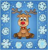 Christmas ornamental greeting card 1