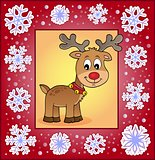 Christmas ornamental greeting card 3
