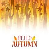 Hello autumn theme image 4