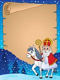 Parchment with Sinterklaas theme 3