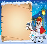 Parchment with Sinterklaas theme 4