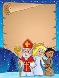 Saint Nicholas Day thematic parchment 1