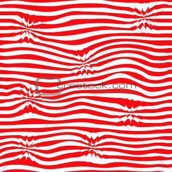 Wave pattern seamless